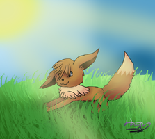 Eevee by pokebulba