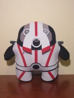 mass effect niftu cal plush, chibi style! by viciouspretty