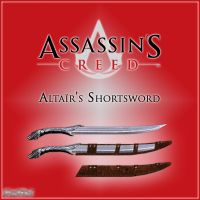 AC: Altair's Shortsword v1,3 by DecanAndersen