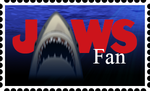Jaws Fan Stamp by BennytheBeast