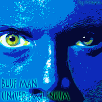 Blue Man Univer by POKETAZ