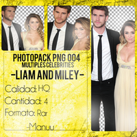 Photopack png 004. Liam and miley by Manuuselena