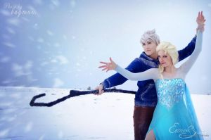 Let the storm rage on - Jack Frost Cosplay by Azure-Hawker