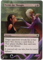 Altered card - Perish thought by JohannesVIII