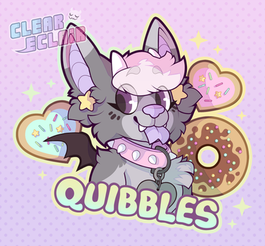[Badge] Quibbles by transparant