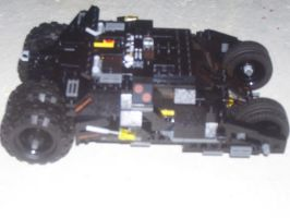 LEGO Batman Tumbler by gotham-knight83