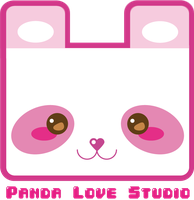 Panda Love Logo by Pochina