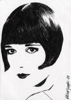 Louise Brooks by jukeboxjive