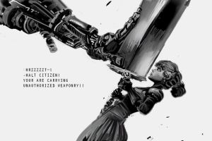 Unauthorized weaponry by hungerartist