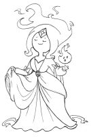 Prize: Flame Princess' new dress by JaviDLuffy