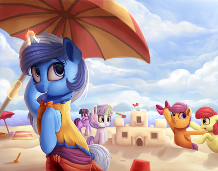 Funtime Beach Extravaganza by VanillaGhosties