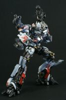 White Optimus by Becky-Customizer