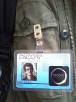 My new Oscorp badge by CptTroyHandsome