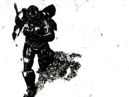 Halo Reach: shadow by purpledragon104