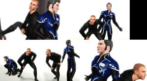Shepard and Kaidan SWAG again by SuperMeja