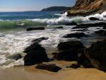 The waves at Sand Beach by davincipoppalag