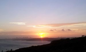 Sunset over Sydney from North Head by rbompro1