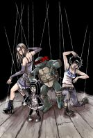 TMNT: Raphael: Bad Moon Rising #4 by mooncalfe