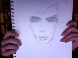 Andy Sixx WIP by mangajustice