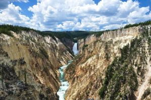 Grand Canyon of Yellowstone by BeachGirlNikita