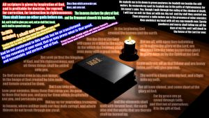 THE KJV HOLY BIBLE 3D Render! by HomelessGoomba