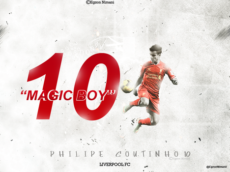 Philippe Coutinho   Wallpaper by EgzonNimani