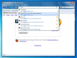 Firefox 3.6 Windows 7 Style by sibbl