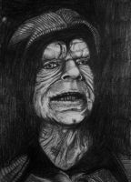 Darth Sidious - Sith Lord (Pencil Version) by DustyPaintbrush