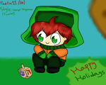 Happy Holidays From Kyle by raelin11