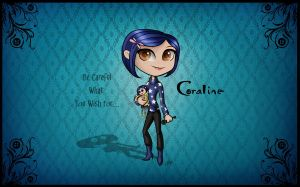 Cute Coraline by CoralineFC
