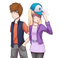 Dipper x Pacifica by KK-AG