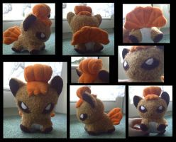 Vulpix Plush by Ashayx