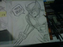 NYCC 2012 Wolverine Sketch by sire64