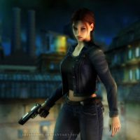 Tomb Raider: Angel Of Darkness - Above The Street by Irishhips