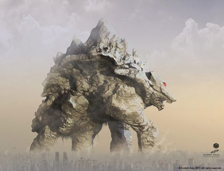zSUMMIT KAIJU by dopepope