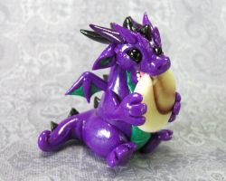 Dragon Nommin Chocolate Stone by DragonsAndBeasties
