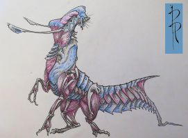 Kursk'Tsik - Scavenger from the wetlands of Kvaal by TwinFeathers