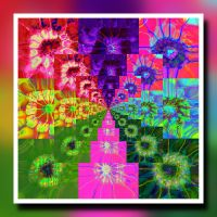 Bright colour squares by muffinn2
