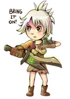 League of Legends - Riven by Dorinootje
