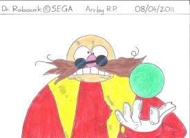 Sonic O.V.A. - Dr. Robotnik by BoomSonic514