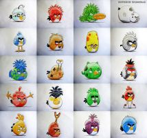 Angrier Birds and Angry Feathered Mutants! (2013) by anthromutants