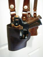 Gun holster by LadyAmanita