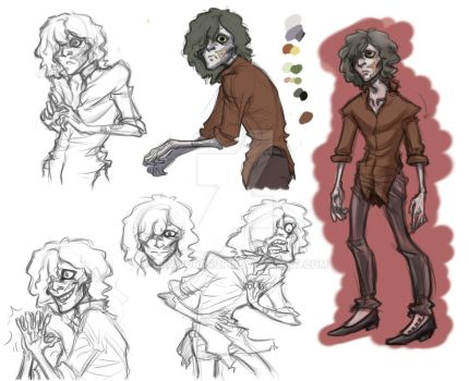 Young man concept 03 by DrawOrDrop
