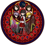 Ib Stained Glass by LannaMisho