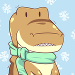 Rexy Ish Cold by nerdrodder