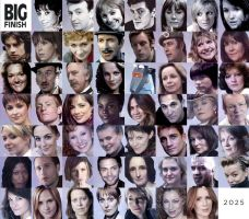 Big Finish Doctor Who Audio Companions Collage by Circular-Time