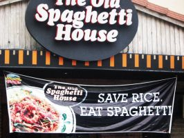 Save Rice, Eat Spaghetti by chantal86