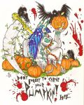 CarvingMyPumpkins09 by Lycan-fennex