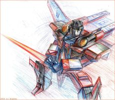 Armada Starscream by darefi