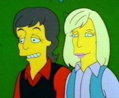 The Simpsons- The Lovely Couple. by pjcb12